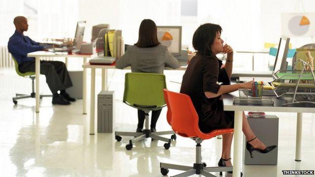 Office workers 'too sedentary'