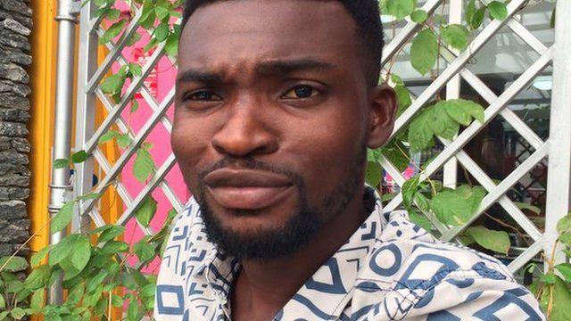 Abayomi Usim, TV producer in Lagos, Nigeria