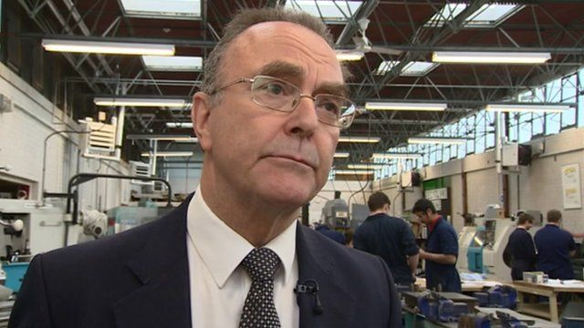 Coleg Gwent principal Jim Bennett talks to Wales Today