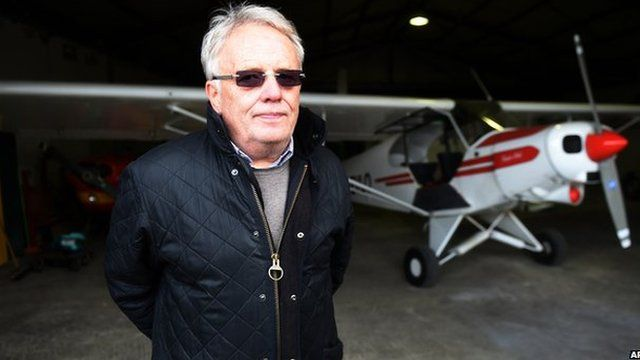 Klaus Radke, chairman of the LSC Westerwald aviation club