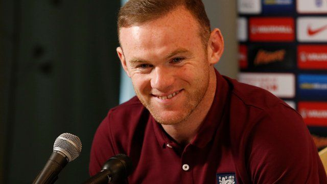 Rooney in press conference