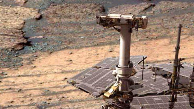 Nasa's Opportunity rover completes marathon on Mars