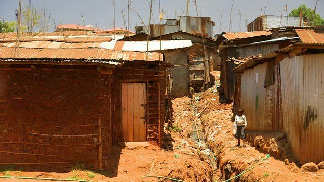 Mathare slum, Nairobi