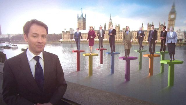 The parties standing in the UK's general election