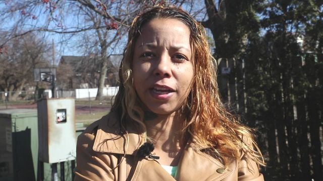 Tiffany Edmonds, the aunt of two men charged with attempting to aid Islamic State, during an interview