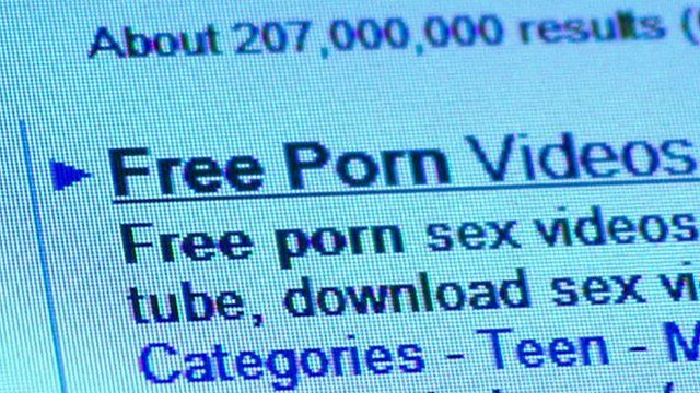 A screenshot of a search result showing 'free porn videos'