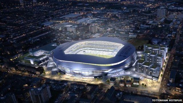 Tottenham Hotspur stadium: Club 'strikes deal with firm'