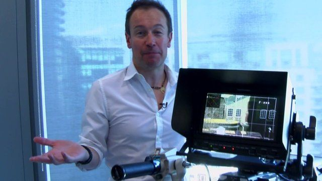 Dan Simmons with ultra-HD camera