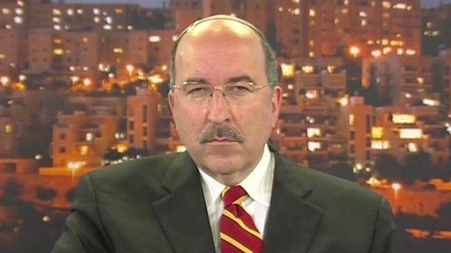 Dore Gold, former adviser to Israeli prime minister Benjamin Netanyahu