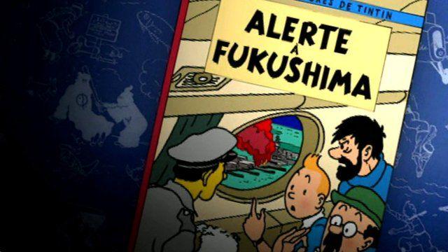April Fools' Tintin comic book cover