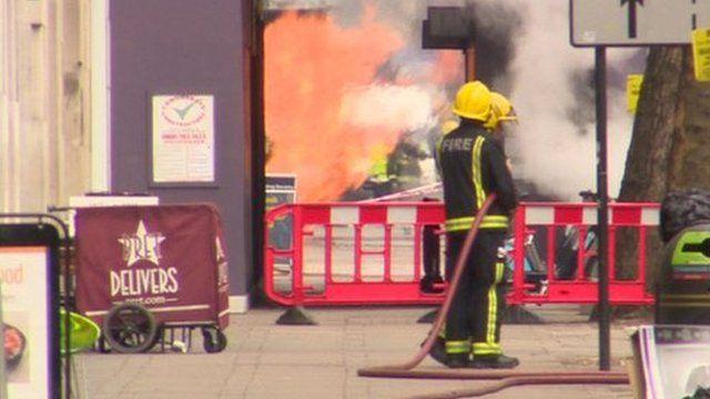 Fire in Kingsway