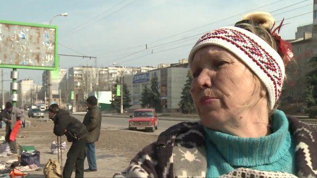Life in Luhansk