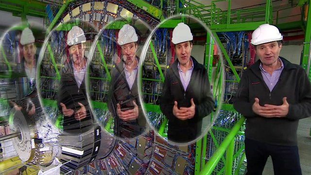 David Shukman at the Large Hadron Collider