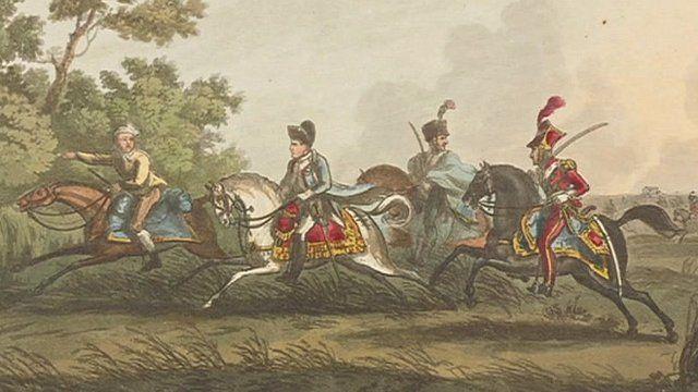Battle of Waterloo illustration