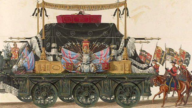 The Duke of Wellington's funeral car