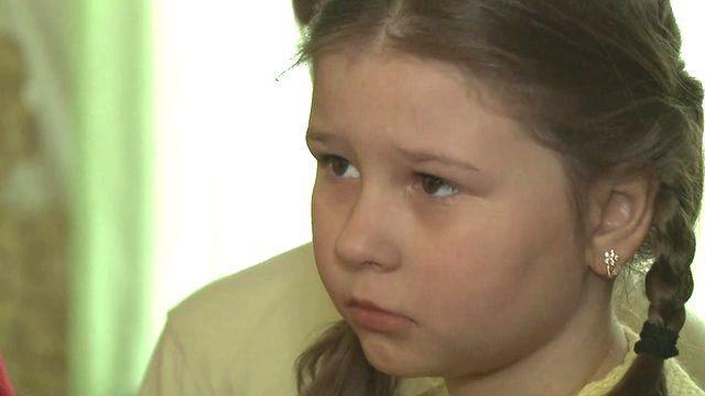 Ukrainian child