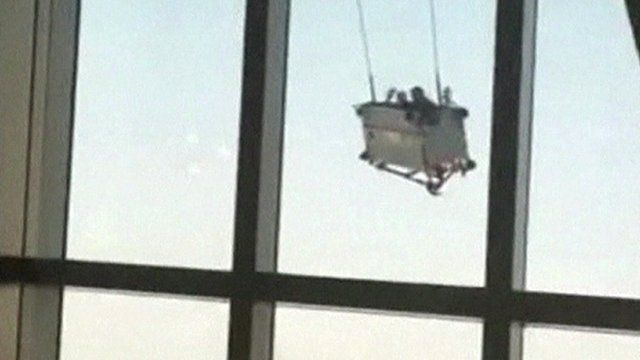 Window cleaning cradle