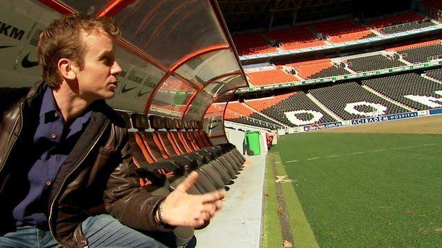 The BBC's Tom Burridge
