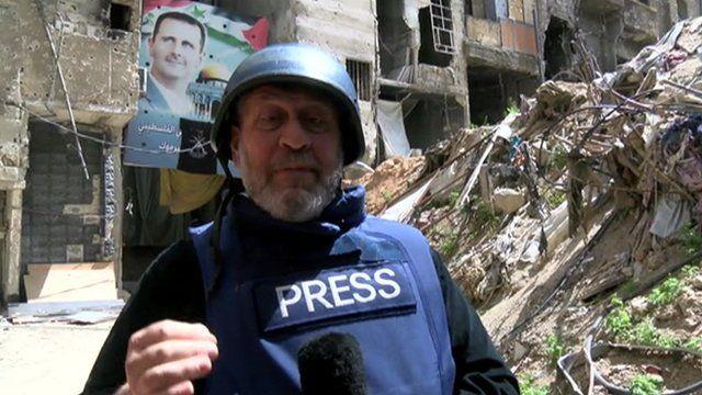 Assaf Abboud in Yarmouk