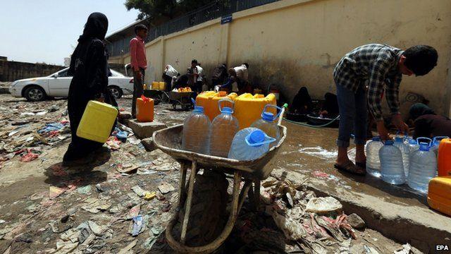 Yemen face water shortage
