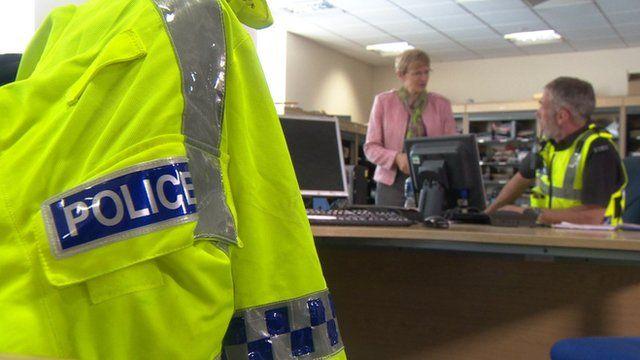 Police fluorescent jacket