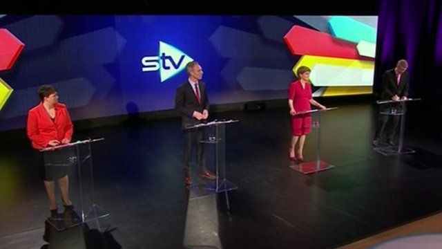 STV leaders' debate line-up