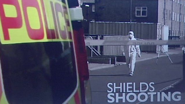 Police in South Shields