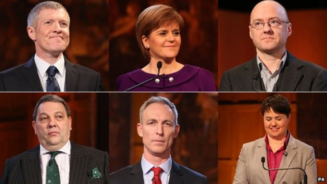 Election 2015: Sturgeon says only 'material change' could spark Scots referendum