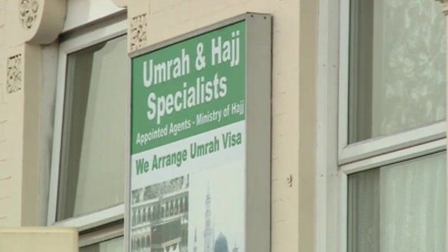 Umrah & Hajj sign