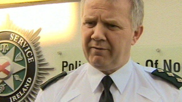 PSNI chief inspector Alan Hutton warned young people not to get involved in trouble and to act responsibly