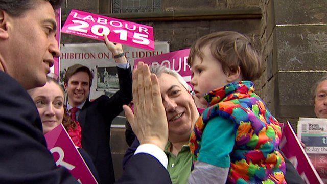 Ed Miliband in Edinburgh