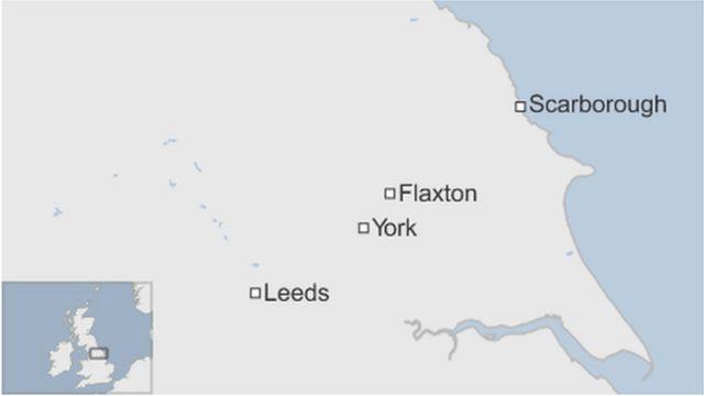 Man driving ambulance dies in crash with bus near York