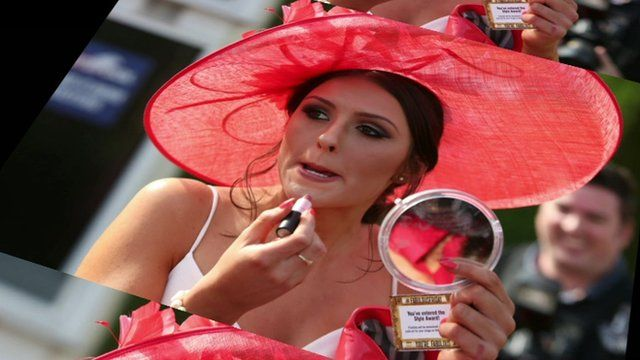 Lady at Aintree