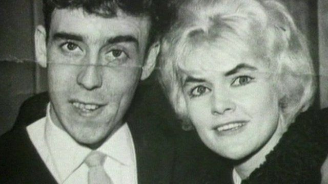 Viv Nicholson and her husband Keith pictured in 1961, the year of their Pools win