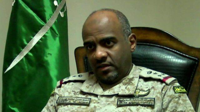 Saudi Brigadier General Ahmed Asiri