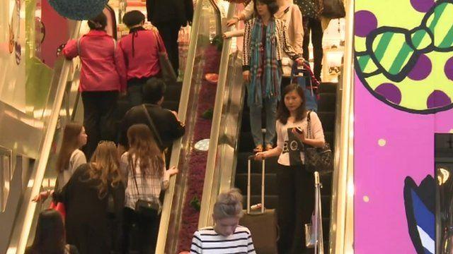 HK shoppers