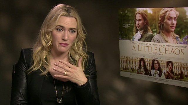 Kate Winslet and Alan Rickman on their new film