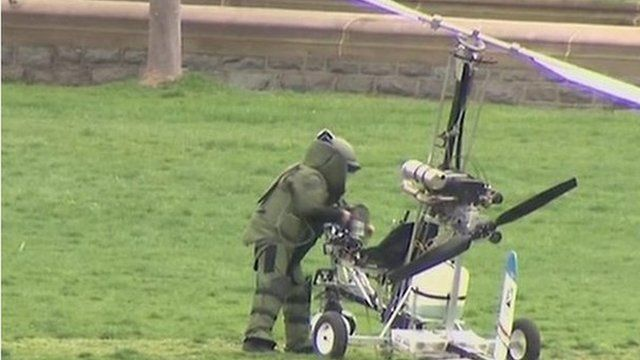 Bomb disposal man