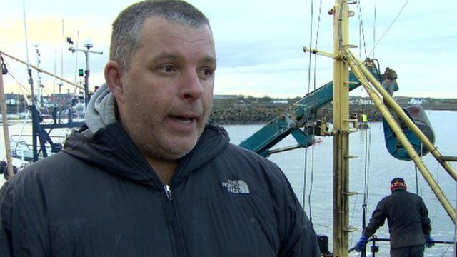 Skipper Paul Murphy said the boat nearly capsized during the incident