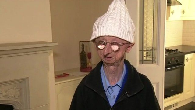 Alan Barnes in his new home