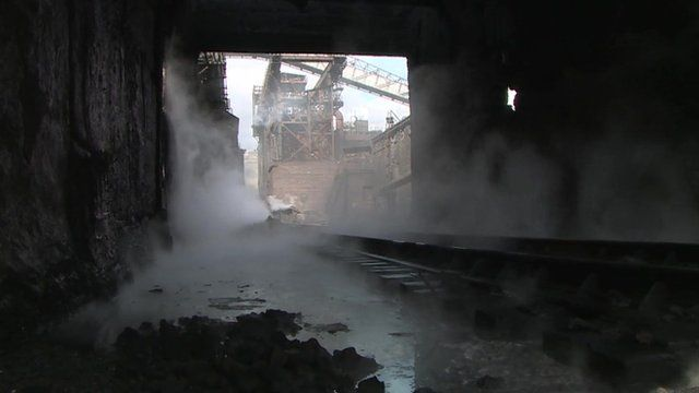 Factory in Avdiivka hit by rockets