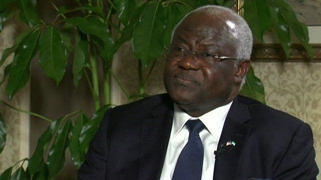 Ernest Bai Koroma, President of Sierra Leone