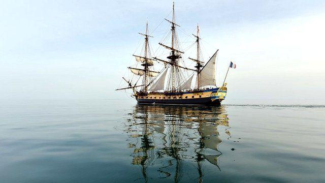 replica frigate Hermione
