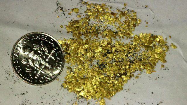 Gold found by Steve Boggan