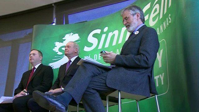 Sinn Fein launches election manifesto