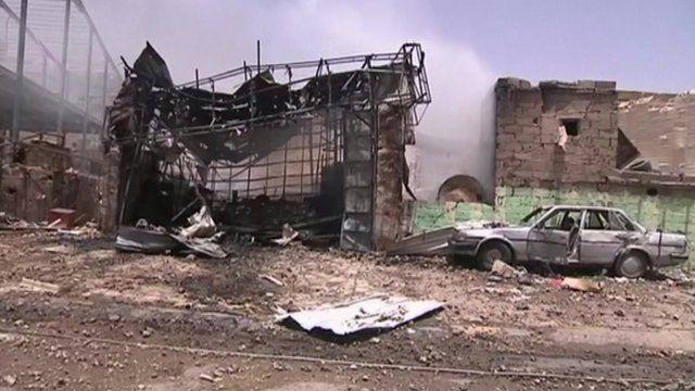 Yemeni capital Sanaa