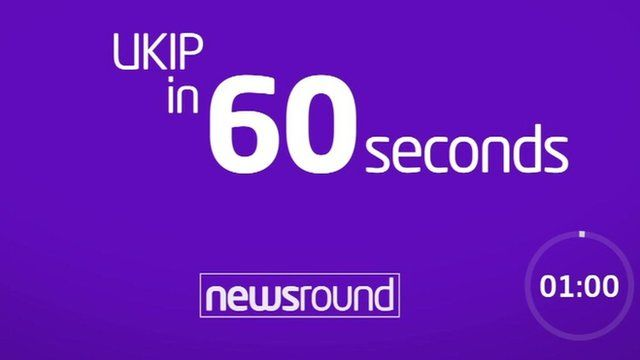 UKIP in 60 seconds