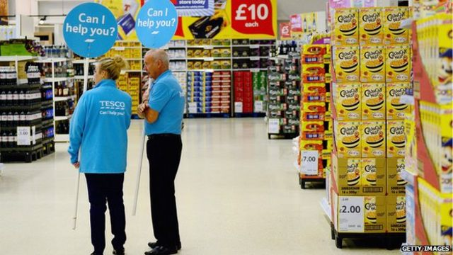 Supermarkets: Everything 'up for grabs'