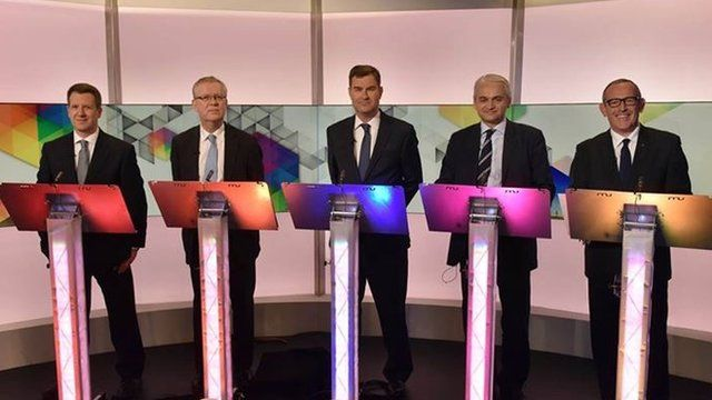 Election debate on the economy
