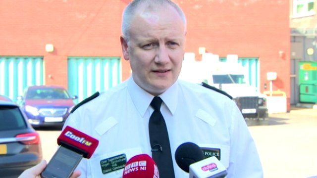 Ch Supt Nigel Grimshaw said the device bore all the hallmarks of dissident republicans